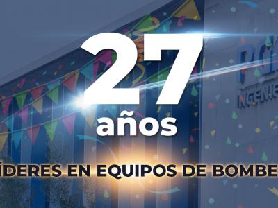 Aniversario 27 de PGIC Ingeniería
