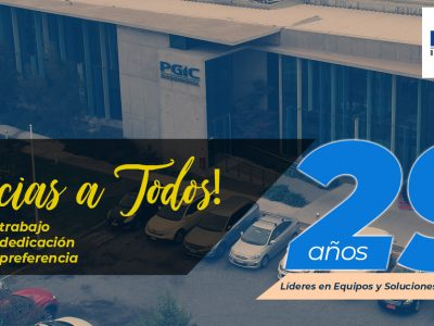 Aniversario 29 de PGIC Ingeniería