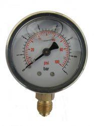MANÓMETRO P1301 PARA NEUMÁTICO (100 psi)
